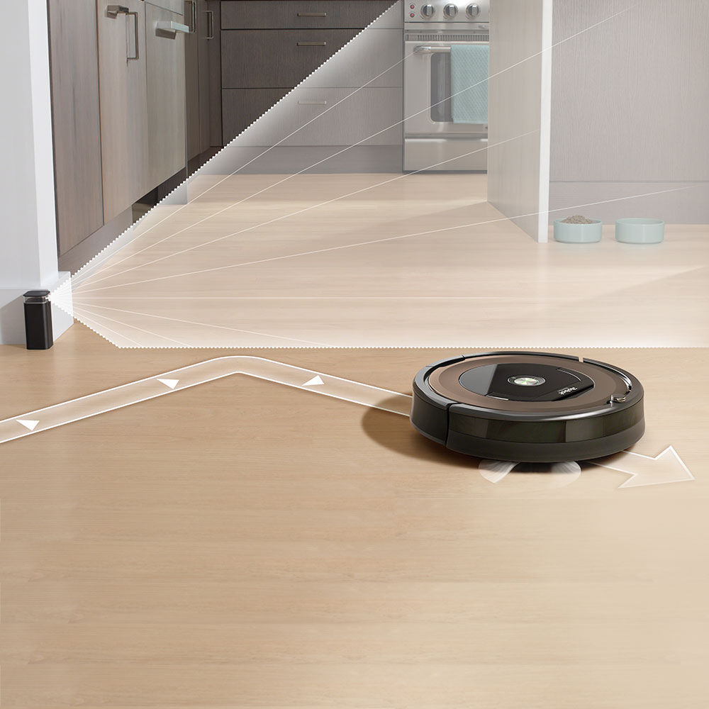 ... Roomba 890 Being Confined To One Area By Virtual Wall