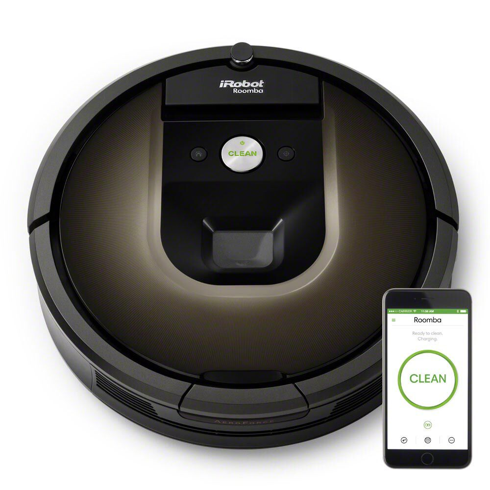 Master Clean Carpet Cleaning >> Roomba® Vacuuming