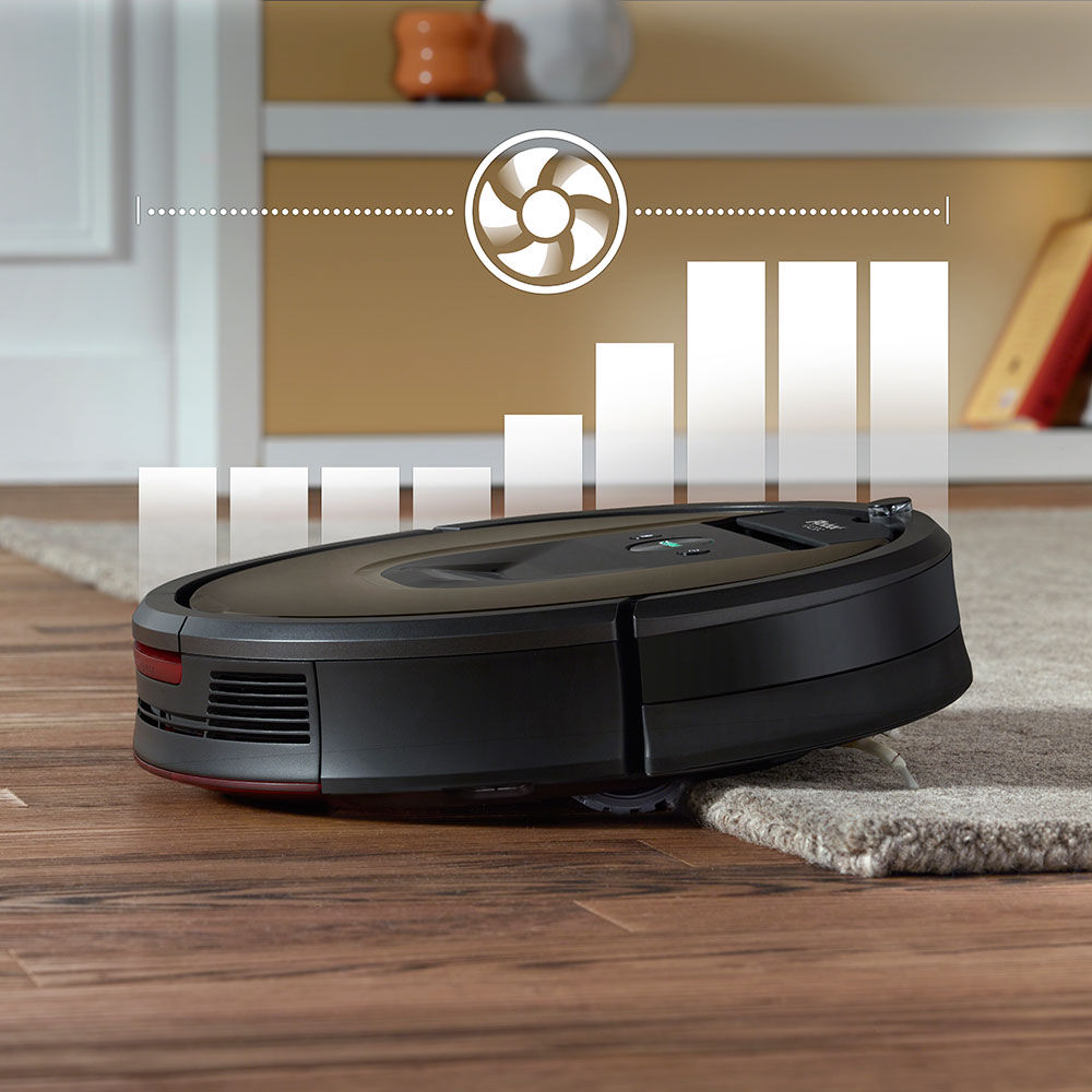 ... Roomba 980 Transistioning From Wood Floor To Carpet Initiating Carpet  Boost ...