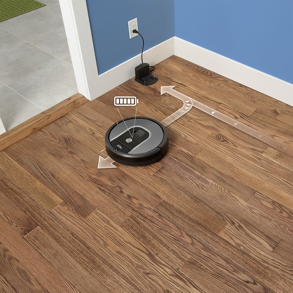 ... Roomba 960 Returning To Home Baseu0026reg; To Recharge And Resume Cleaning  ...