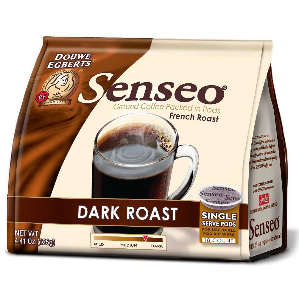 senseo coffee pods dark roast 6pk