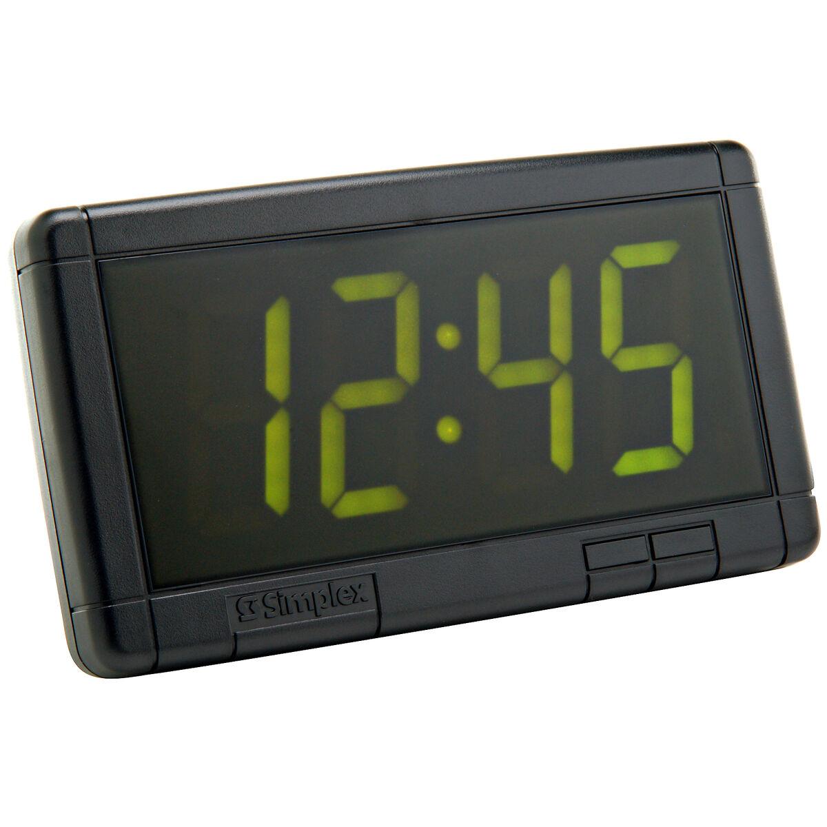Digital wall clocks 25 green led clock 120 vac amipublicfo Images