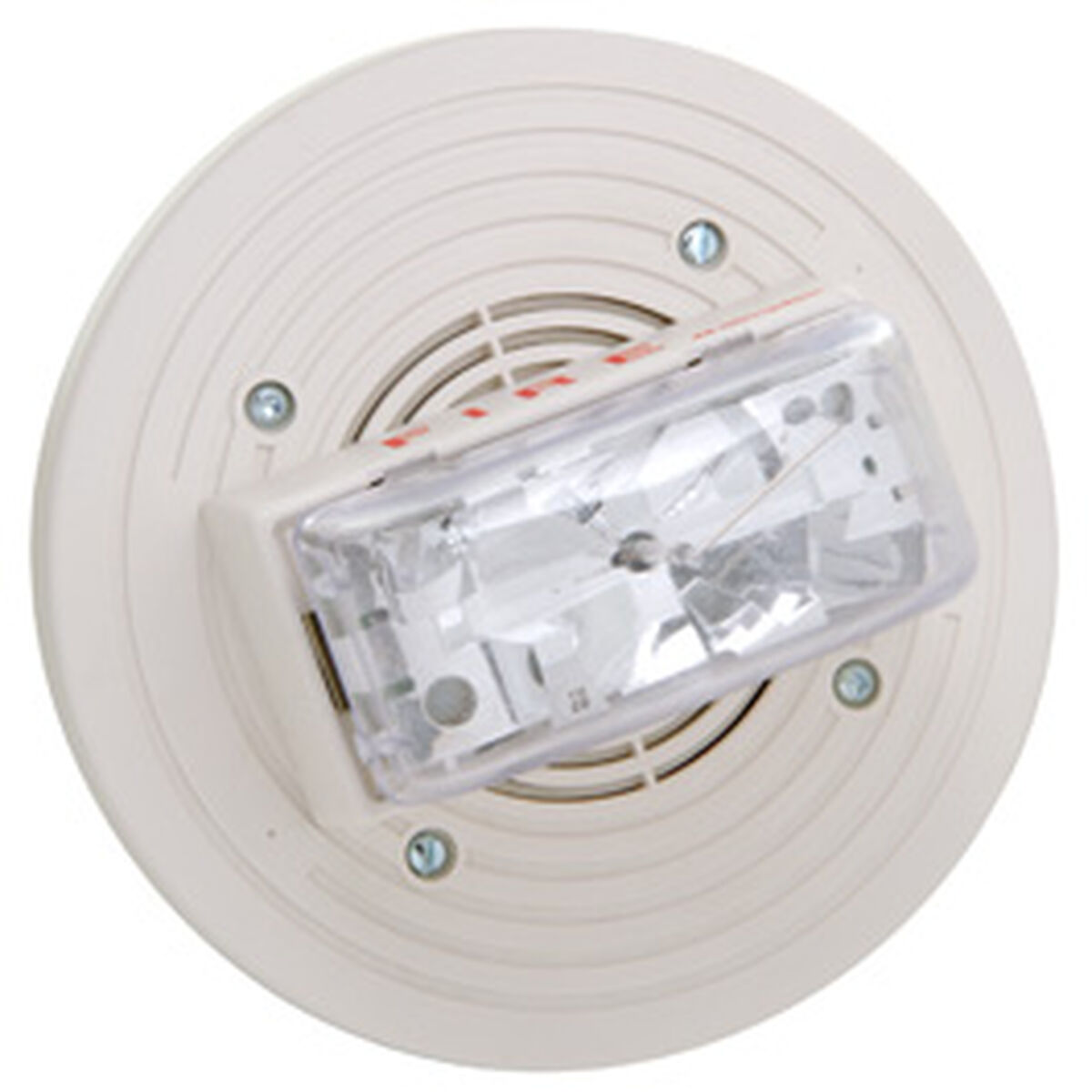 Speakervisible 24vdc 15cd Ceiling Mt Wht