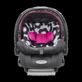 embrace infant car seat evenflo. Black Bedroom Furniture Sets. Home Design Ideas