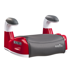 AMP Performance DLX No-Back Belt-Positioning Booster Car Seat (Red)