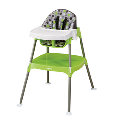 3-in-1 Convertible High Chair (Dottie Lime)