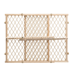 Position & Lock 23 in. Tall Gate (Beige)