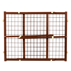 Now and Furever 23 in. Tall Gate (Brown)