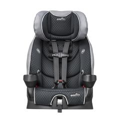 SecureKid LX Harnessed Booster Car Seat (Raven)