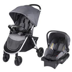 Folio Travel System - 4 Wheel (Metro Gray)