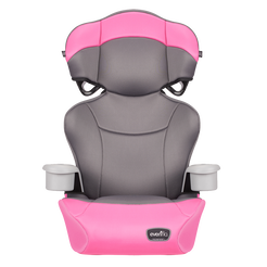 Big Kid Essential High Back Booster Car Seat (Pink Dove)