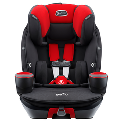 SafeMax™ 3-in-1 Combination Booster Car Seat (Crimson)