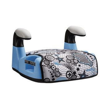 AMP LX No-Back Belt-Positioning Booster Car Seat (Pop Blue)
