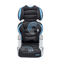 Big Kid Amp Highback 2-in-1 Belt-Positioning Booster Car Seat (Sprocket)