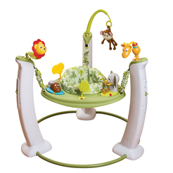 Jump & Learn Wild Life Adventure Stationary Jumper ExerSaucer (Wild Life Adventure)