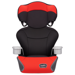 Big Kid Essential High Back Booster Car Seat (Cardinal Red)