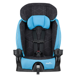 ADVANCED Chase LX Harnessed Booster Car Seat (Glacier Ice)