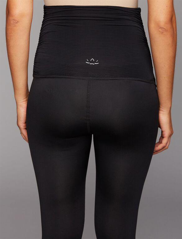 Beyond The Bump Secret Fit Belly Maternity Leggings, Black