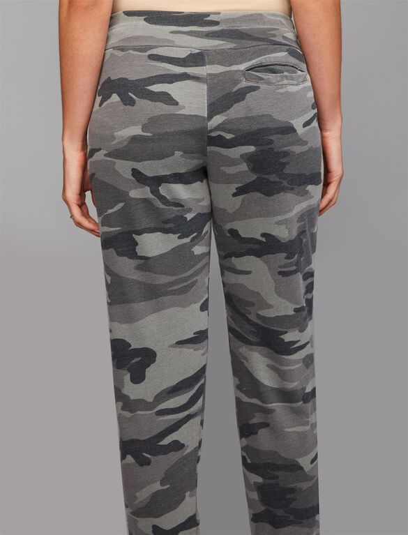 Splendid Under Belly Jogger Maternity Jogger Pant, Camo