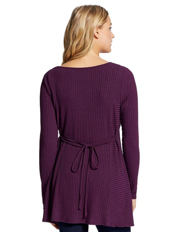 Jessica Simpson Relaxed Fit Maternity Tunic, Pickled Beet