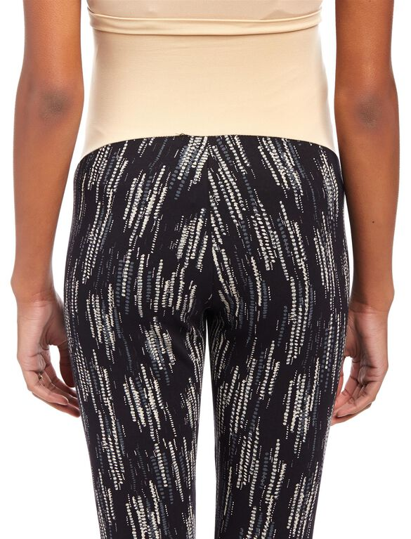 Secret Fit Belly Printed Maternity Leggings, Dripping Dot