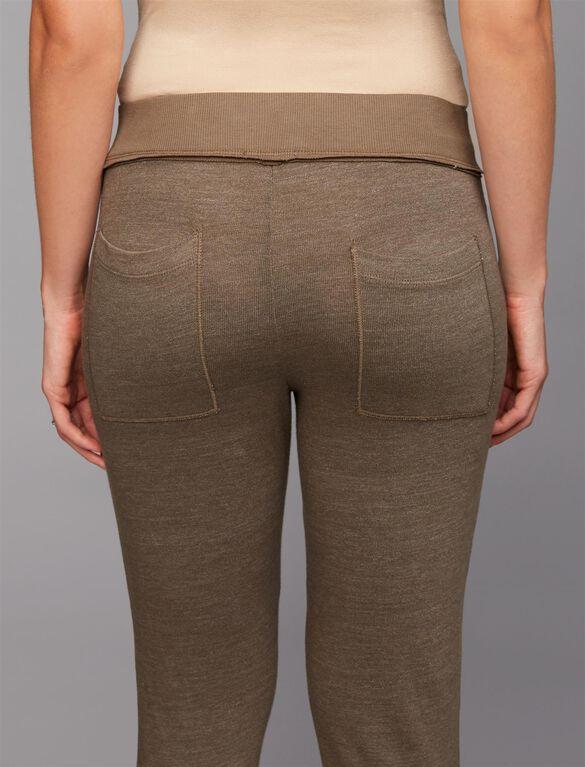 Splendid Under Belly Maternity Jogger Pants, Olivine