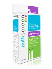 Milkscreen Alcohol Test Strips, N/A
