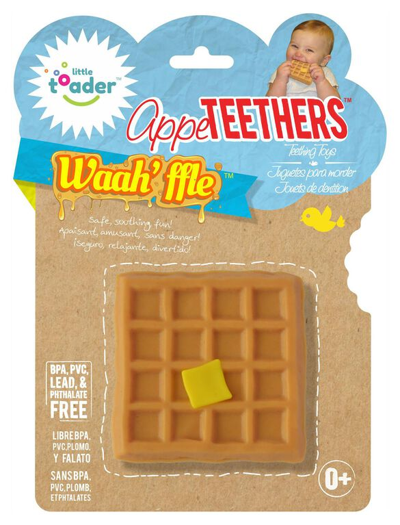 Little Toader Appe-Teethers- Waah'ffle, Waahffle