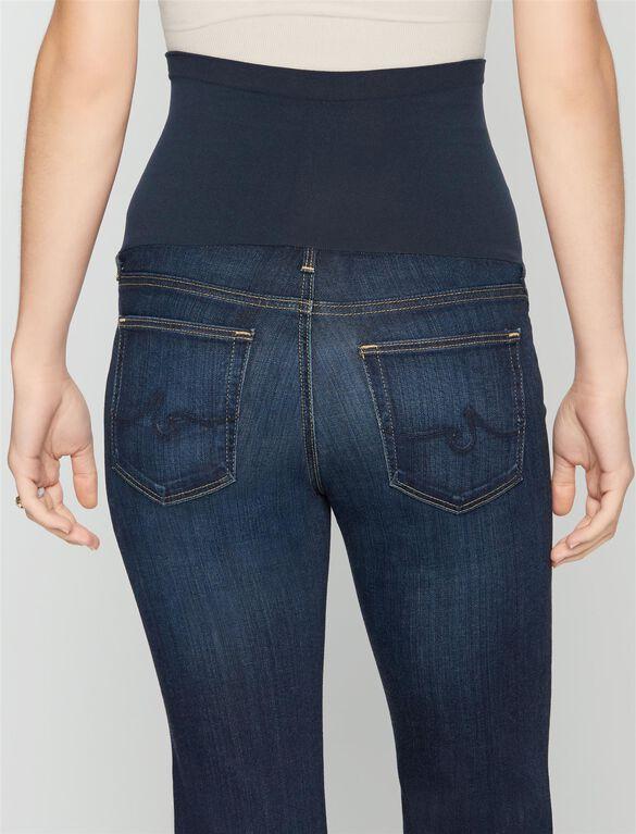 AG Secret Fit Belly Angel Boot Cut Maternity Jeans, Midnight Swim -dark