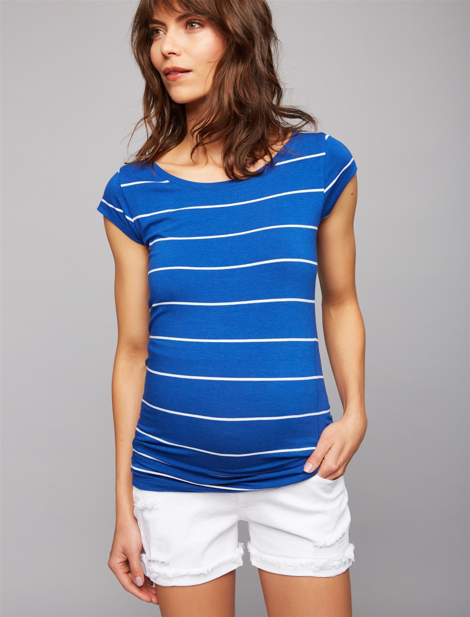 Dl1961 Secret Fit Belly Roll Hem Maternity Shorts