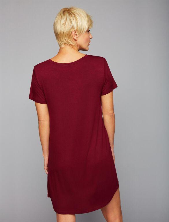 Super Mom Nursing Nightgown, Mulled Wine