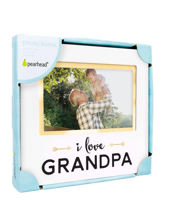 Pearhead I Love Grandpa Photo Frame, Grandma Frame