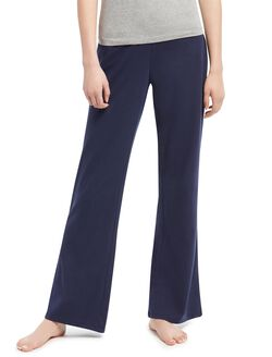 Maternity Sleep Pants- Solid, Navy