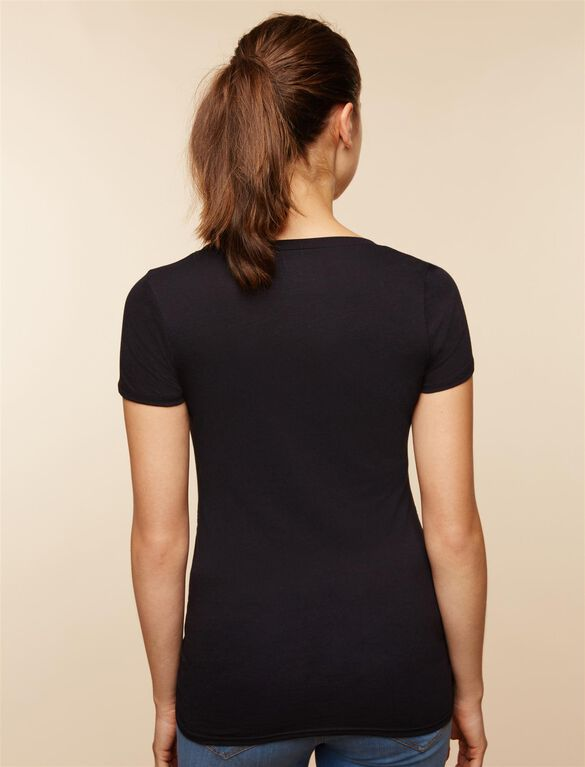 Stork March Maternity Tee, March
