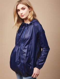Modern Eternity 3 in 1 Drawstring Maternity Jacket, NAVY