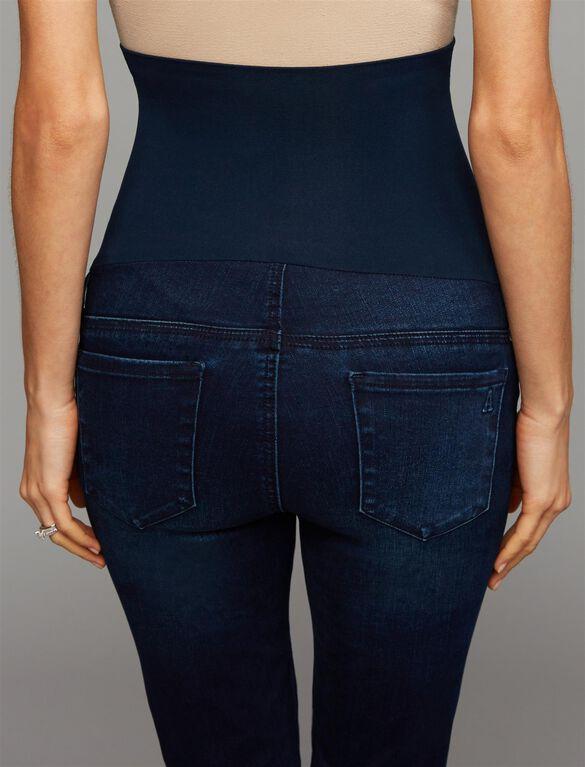 Articles Of Society Secret Fit Belly Skinny Leg Maternity Jeans, Dark Wash