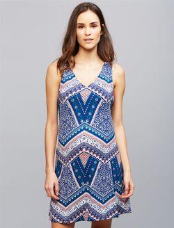Tart Charlie Maternity Dress, Tiles Print