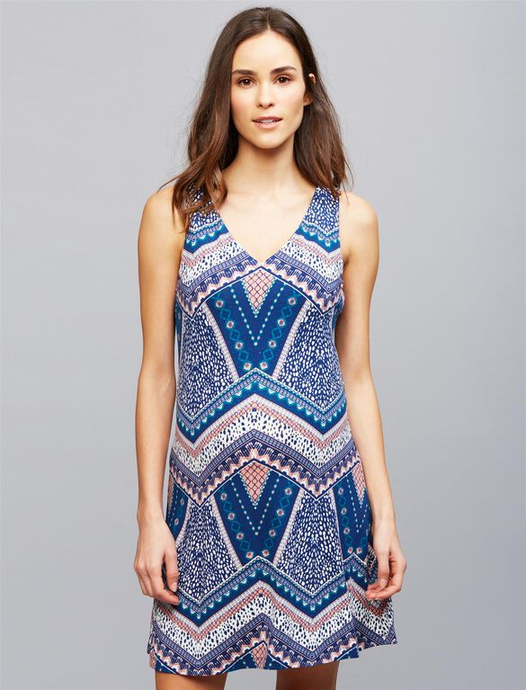 Tart Charlie Maternity Dress, Tiles Print