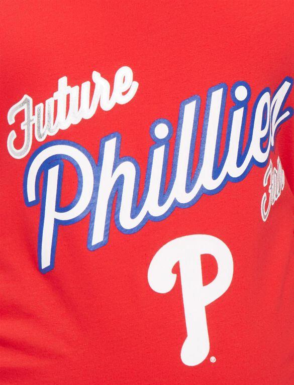 Philadelphia Phillies MLB Future Fan Maternity Tank, Phillies Red