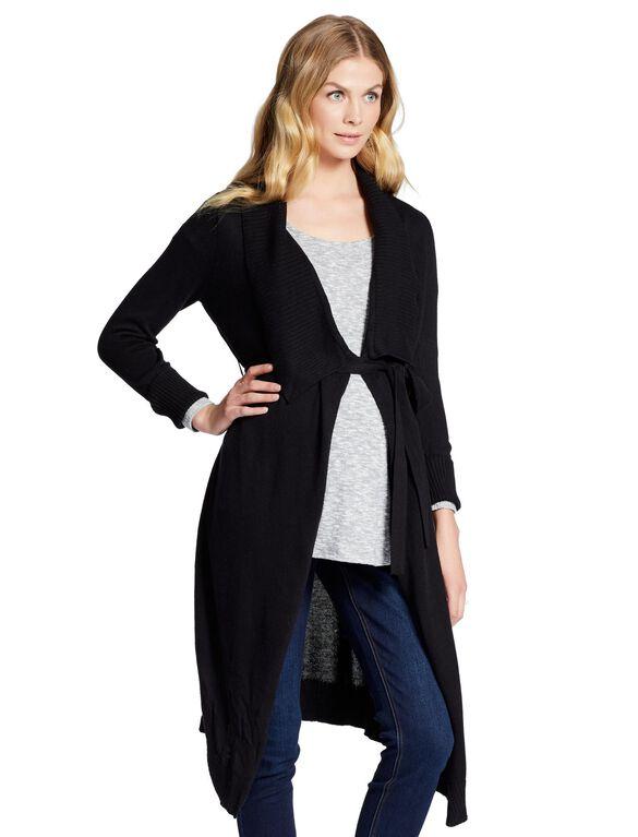 Jessica Simpson Cascade Maternity Sweater, Black