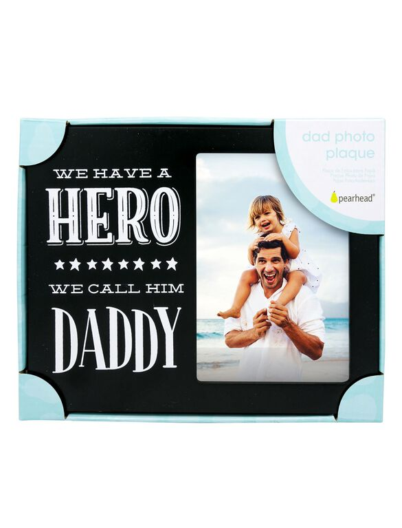 Pearhead Dad Photo Plaque, Dad Plaque