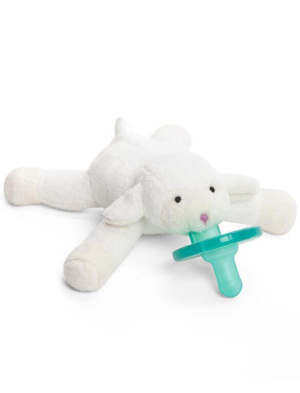 Wubbanub Lamb Infant Pacifier, Lamb