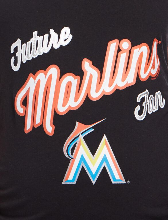 Miami Marlins MLB Future Fan Maternity Tank, Marlins Black