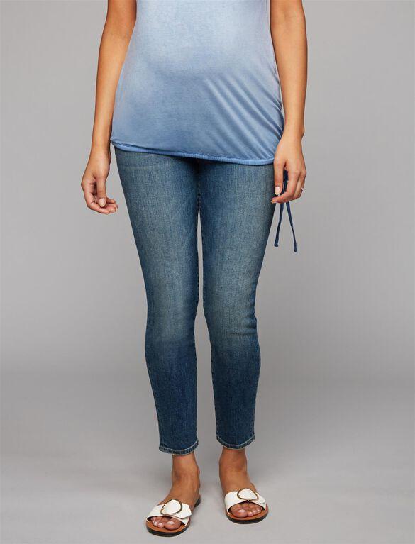 Jbrand Secret Fit Belly Skinny Leg Maternity Jeans, Medium Wash