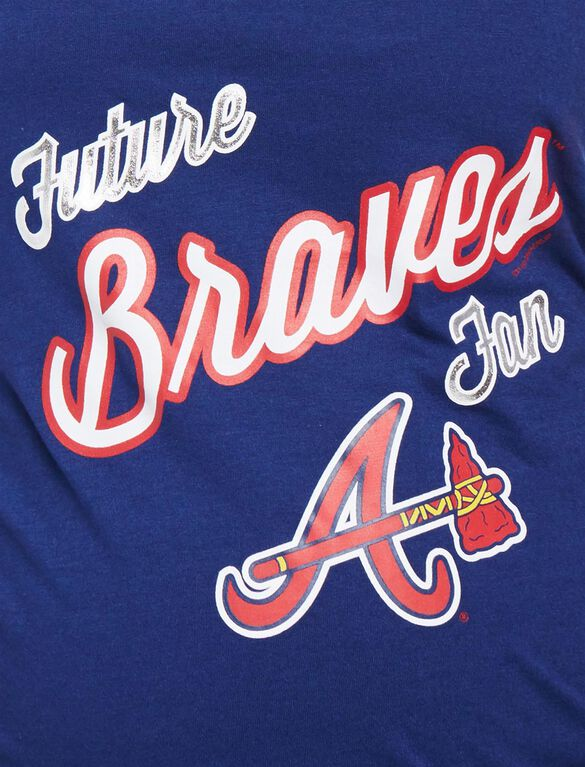 Atlanta Braves MLB Future Fan Maternity Tank, Braves Navy