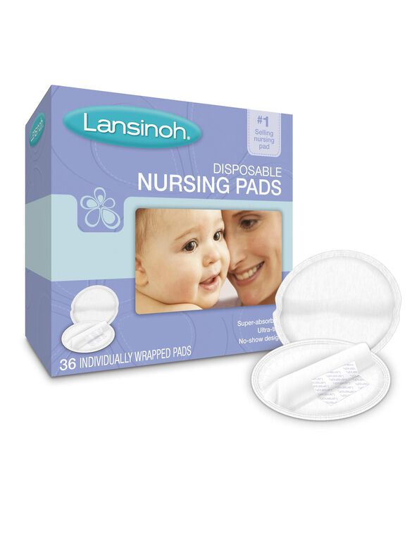 Lansinoh Disposable Nursing Pads 36ct, Nursing Pads