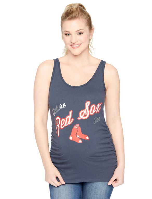 Boston Red Sox MLB Maternity Graphic Tank, Red Sox