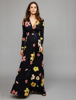 Rachel Pally Caftan Maternity Maxi Dress, Romance Print