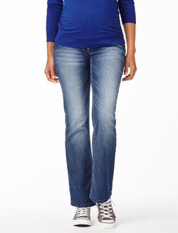 Wallflower Secret Fit Belly Boot Cut Maternity Jeans, Aura Medium Wash