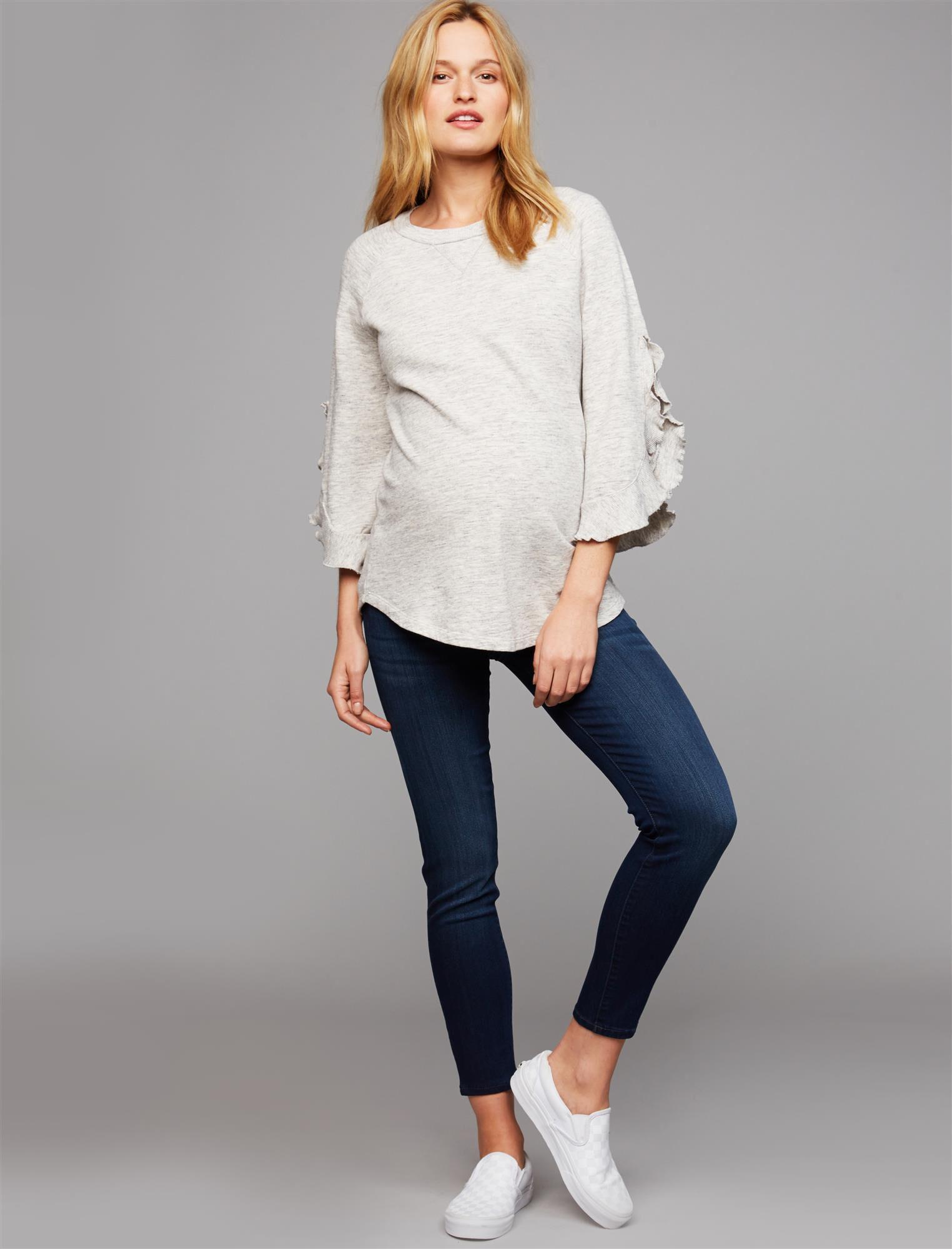 DL1961 Under Belly Jess Skinny Ankle Maternity Jeans